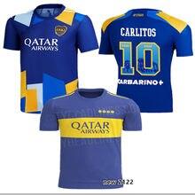 Camiseta DE Boca romana para el hogar, ropa DE calle DE alta calidad, con estampado DE la serie Boca, DE la temporada 2021/2022