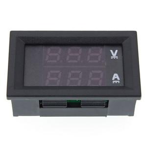 """Image 5 - 50pcs DC 0 100V 10A Digital Voltmeter Ammeter Dual Display Voltage Detector Current Meter Panel Amp Volt Gauge 0.28"""" Red Blue"""