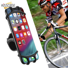 KISSCASE Universal Bike Phone Holder For Samsung Galaxy Note 9 S10 5G Motorcycle Bicycle Telefon Tutucu
