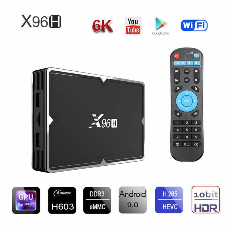 Français arabe IPTV chaînes X96H Android 9.0 décodeur intelligent néo Tv Pro 1 an Code PK QHDTV Volka