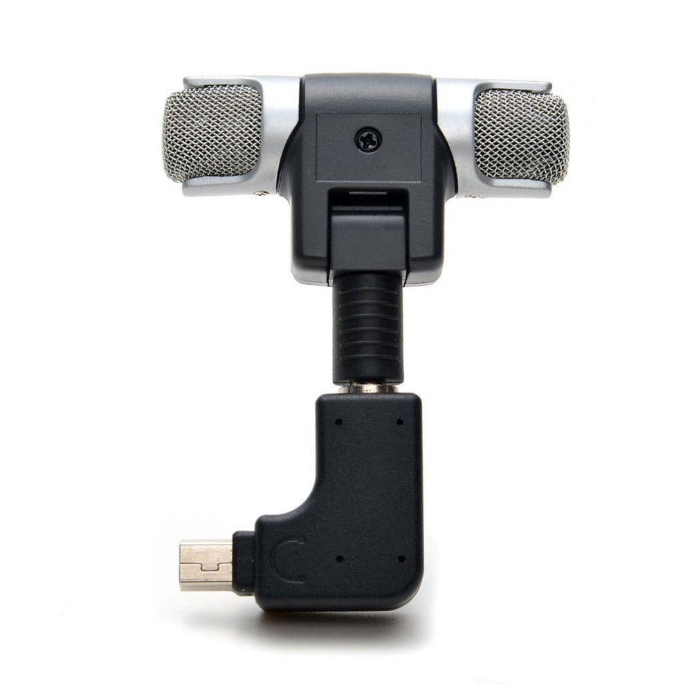 For Gopro Hero 3/3+/4 Mini Stereo Microphone Protective Frame Case Mount For Go Pro Action Camera 3.5mm No Noise Mini Mic