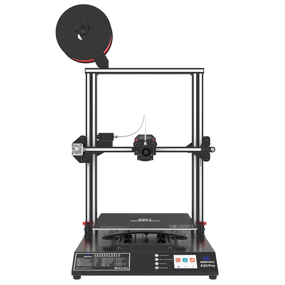 Geeetech 3D Printer A30Pro Dual Hotend GT2560 V4.0 320*320*420m³ Big Print Area Open Source Filament Sensor Silent Print FDM CE on AliExpress