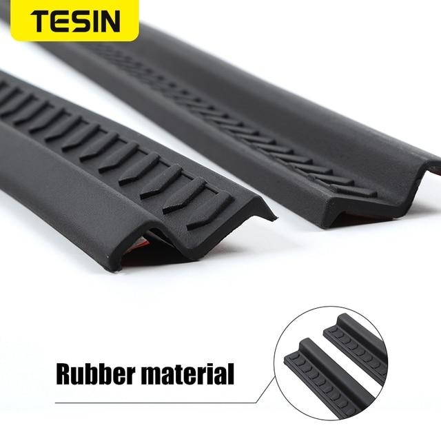 Фото резиновые молдинги для стайлинга tesin накладка на порог автомобиля