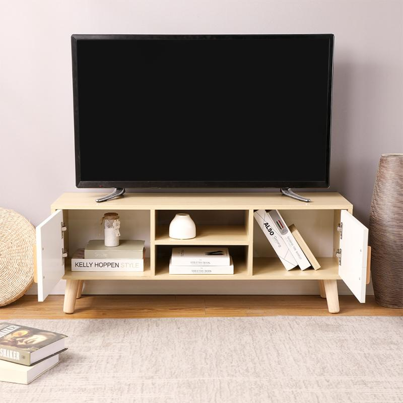 Modern Television Stands TV Stands With Drawer Cabinet Storage Organizer Living Room Furniture TV Monitor Stand HWC