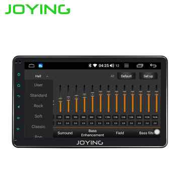JOYING 10.1 inch IPS Screen car radio strereo Android 8.1 universal radio cassette player Support Mirror link/DSP/SWC/DVR/OBD BT