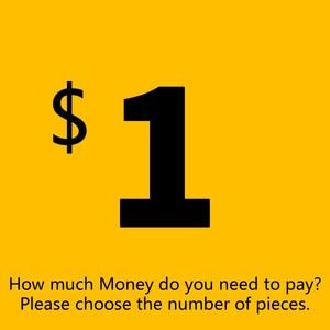Дополнительная оплата за ваш заказ, дополнительные сборы и стоимость доставки, Почтовая разница, пожалуйста, выберите количество штук