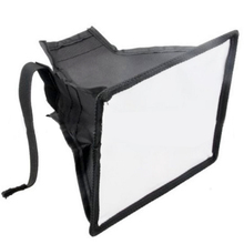 купить Flash Light Reflector Photography Accessories Flash Diffuser Camera Softbox Speedlight Universal Professional With Storage Pouch дешево