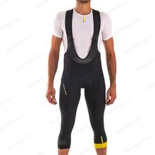2021 MAVIC Для мужчин Велоспорт Панталоны 3/4 длинные штаны шорты для велосипедистов MTB Hombre для верховой езды штаны Ropa Ciclismo велосипедные шорты из ...