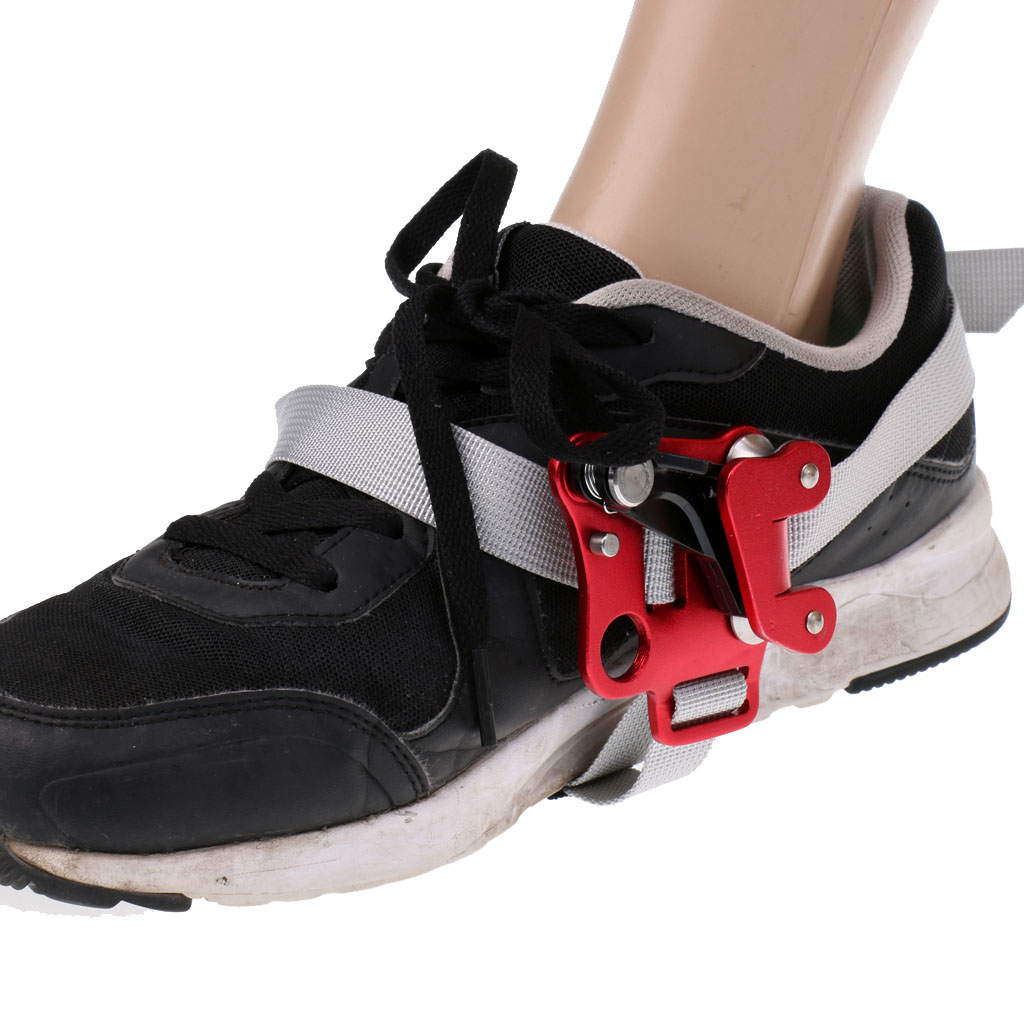 Safety 150KG Climb Foot Ascender Riser Rope Boot Mounted For Right Foot Mountaineering Rock Climbing Fire Rescue Engineering
