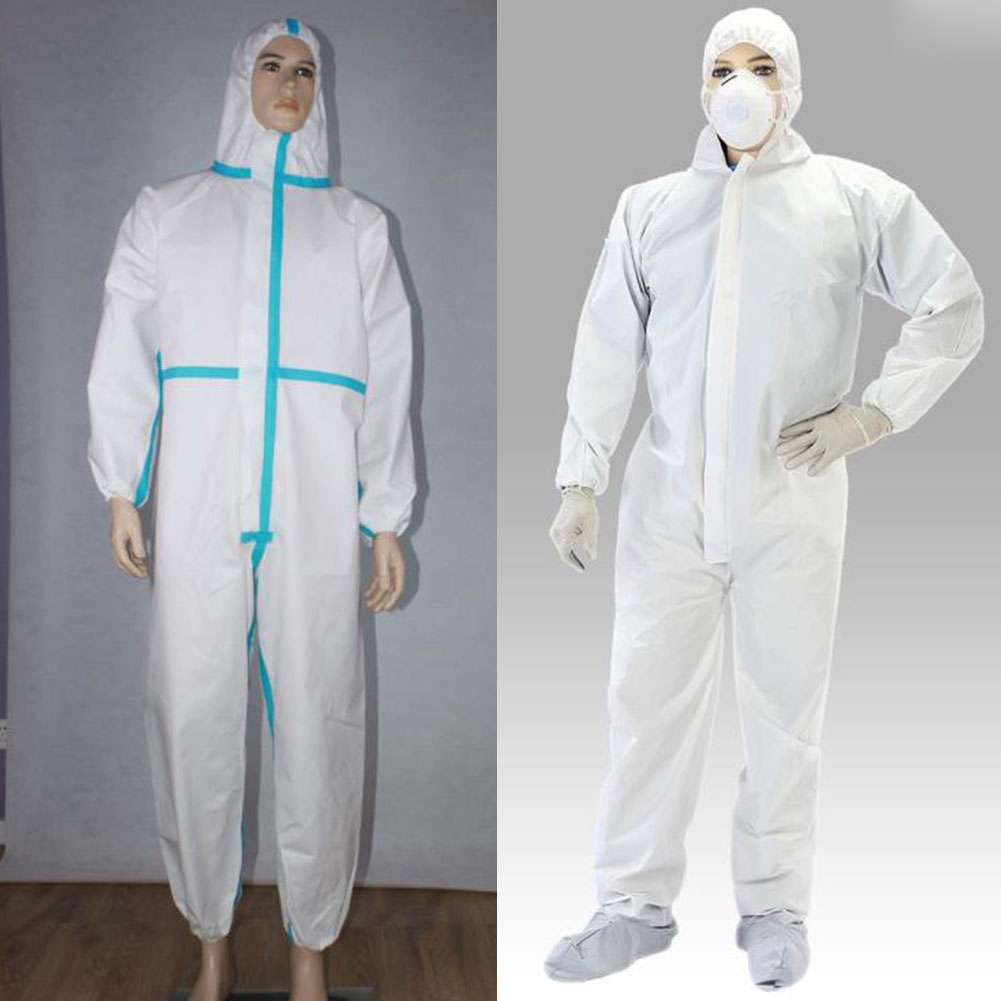 Disposable Hooded Overalls Painting Dust Safety Clothing Chemical Protection Dustproof Oil Resistant Overalls Suit