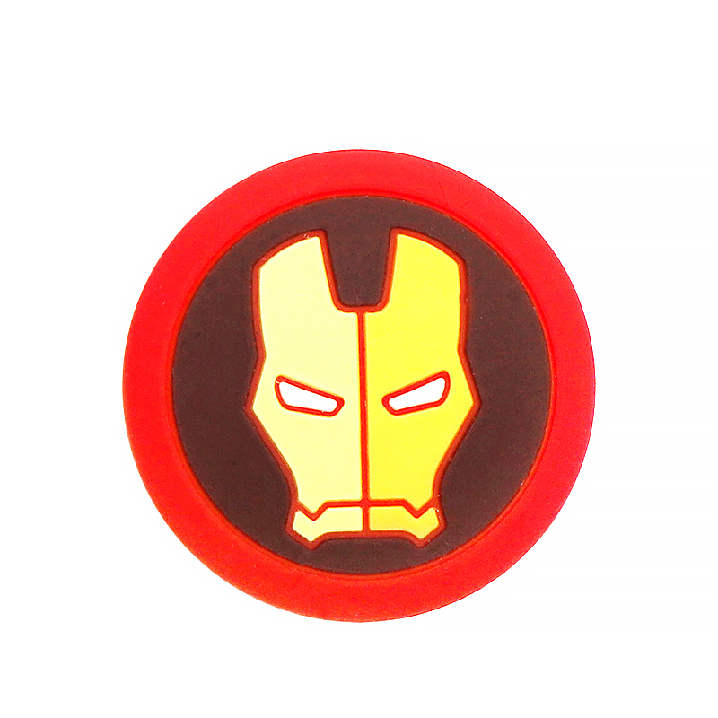 Для Pulseira Mi band 2 3 4 ремень фиксирующий обруч петля пряжка фиксатора держатель для xiaomi band3 4 наручные часы аксессуары - Цвет: iron Man
