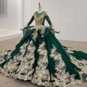 Image 3 - HTL1173 ชุดราตรียาว appliques ประดับด้วยลูกปัดเลื่อมรูปแบบพู่อย่างเป็นทางการชุดผู้หญิง vestidos Elegant vestidos de finalistas