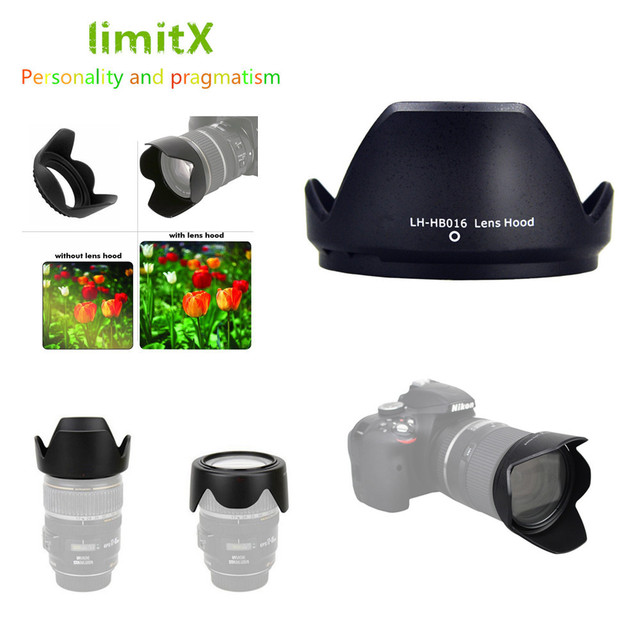 Reversible Flower Camera Lens Hood For Tamron 16 300mm f/3.5 6.3 Di II VC PZD MACRO Lens Replaces Tamron HB016