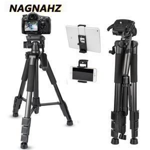 Image 1 - 67 Inch Professionele Statief Video Camera Draagbare Stand Aluminium Reizen Tripode Voor Canon Nikon Sony Dslr S Mobiele Telefoon Camera S