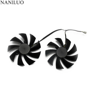 Image 2 - 95mm PLD10015B12H 0.55A RX580 RX590 For POWERCOLOR DATALAND Radeon RX 580 590 Red Devil Golden Sample Graphics Card Cooling Fan