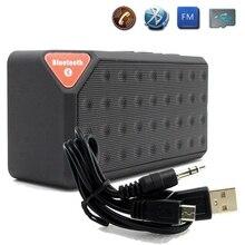 مصغرة بلوتوث المتكلم X3 دعم TF USB FM راديو اللعب اللاسلكية المحمولة الموسيقى صندوق الصوت مضخم صوت مكبر الصوت مع Mic