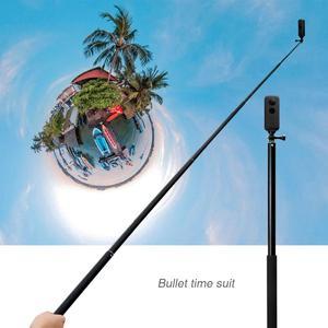 Image 5 - 1.5m Extended Selfie Sticks Handheld/Handle Monopod For Gopro Hero8765 Black Mobile Phone Holder For OSMO Insta 360 OneX EKEN H9