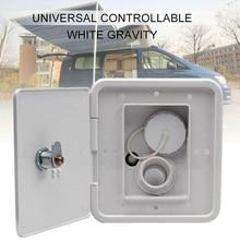 Threaded-Accessories Caravan Plastic-Parts Rv-Trailer Water-Intake Hatch-Cover Inlet