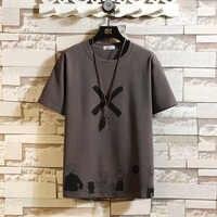 Camiseta de manga corta para hombre, camiseta de alta calidad, ropa clásica de marca, de talla grande M-5XL con cuello redondo, verano 2020
