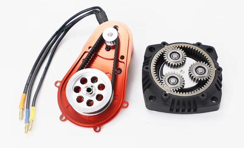 Wyścigi FID, 2019 wersja bezszczotkowy elektryczny rozrusznik do 1/5 gazu zasilany przez rc samochody (dla losi 5 t, baja 5b 5 t, losi dbxl, MCD, smok h w Części i akcesoria od Zabawki i hobby na  Grupa 3
