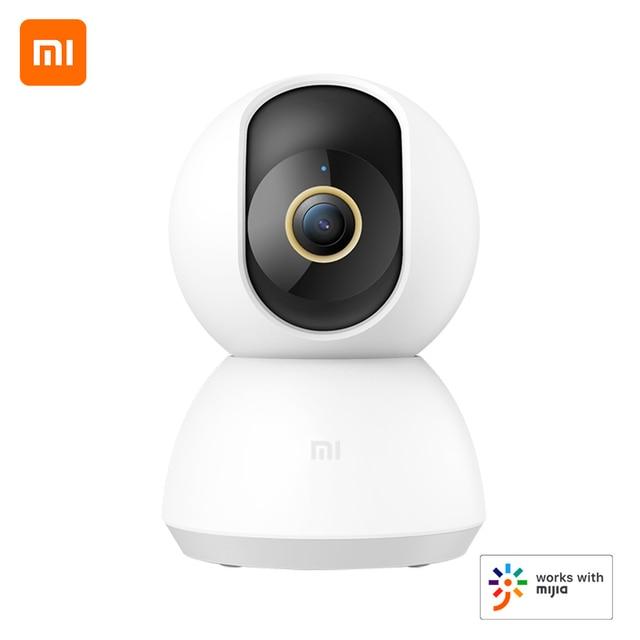Xiaomi PTZ 2K חכם מצלמה 360 תואר פנורמי 3MP IP מצלמה אבטחת בית מצלמת צג ראיית לילה וידאו Webcam חכם מצלמה