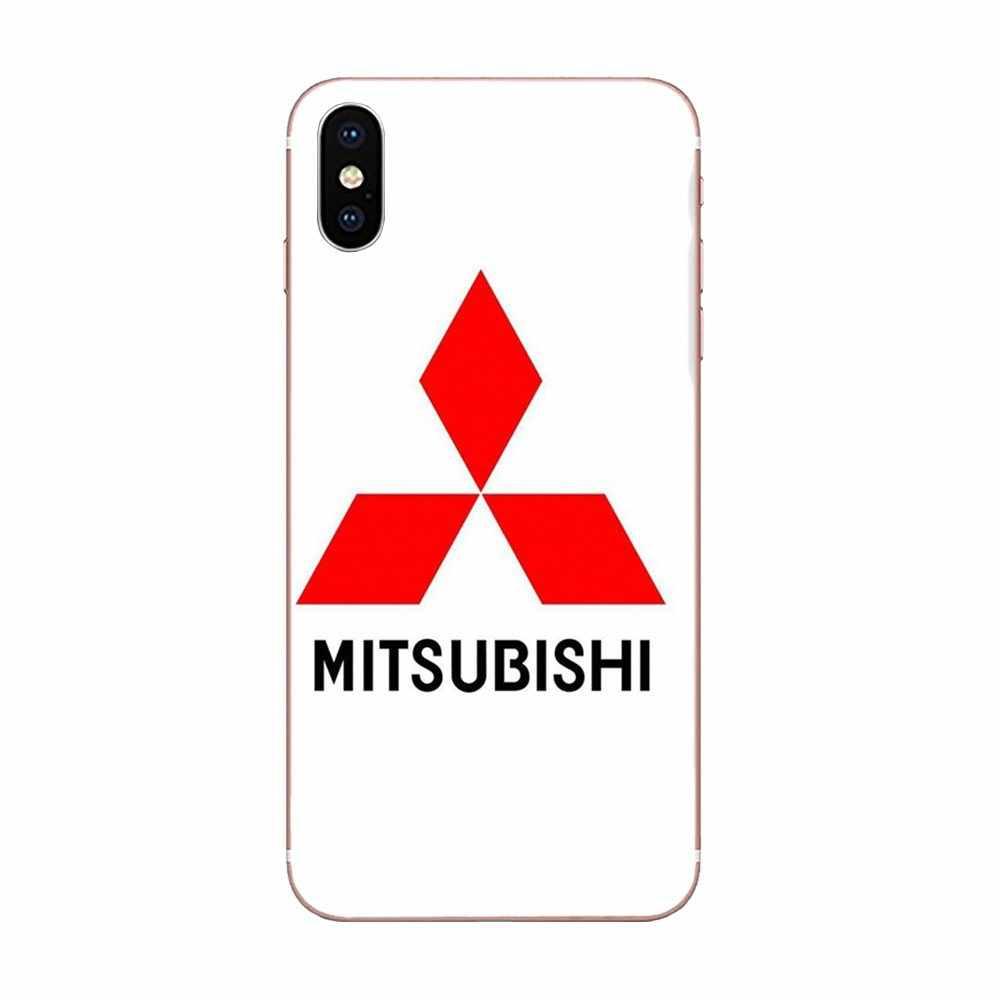 Pour Mitsubishi Motors Logo souple TPU téléphone portable etui téléphone huawei Honor Mate 7 7A 8 9 10 20 V8 V9 V10 G Lite Play Mini Pro P Smart