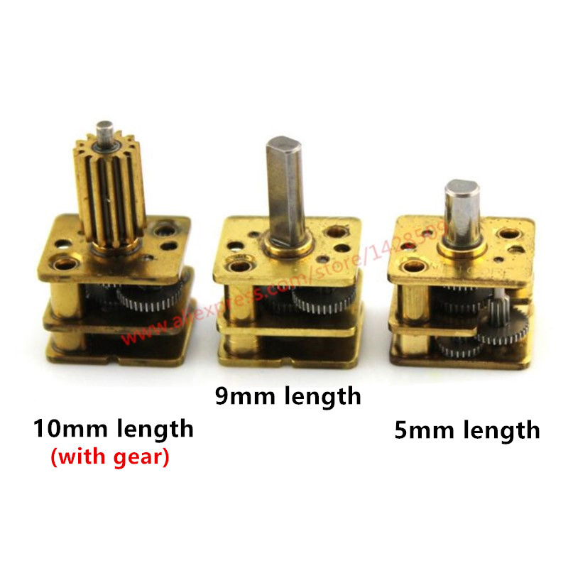 Hight Quanlity  Metal Micro Copper Change Speed Gear Box And Reduction Gearbox For The Robot Motor