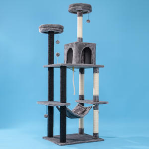 Jumping-Toy-Frame Cat's-Tree-Tower Pets-Play-Tree Chat Climbing Domestic-Delivery Gato