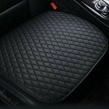 1pc Car Seat Cover PU Black Health Protection Universal Decoration Pad Premium Interior Auto Accessories(China)