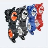 다기능 램프 홀더 360 학위 revolvable 자전거 손전등 홀더 LED 손전등 브래킷