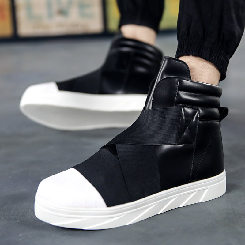 2020 Men Shoes Sneakers Footwear Walking Shoes Fitness PU Leather Male Sneakers Tenis Casual Adults Trainers Sapato Masculino