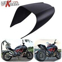 цены Motorcycle Passenger Solo Rear Seat Cover Cowl Pillion Fairing For Ducati Diavel 2011 2012 2013 2014 2015 2016 2017 2018 Black