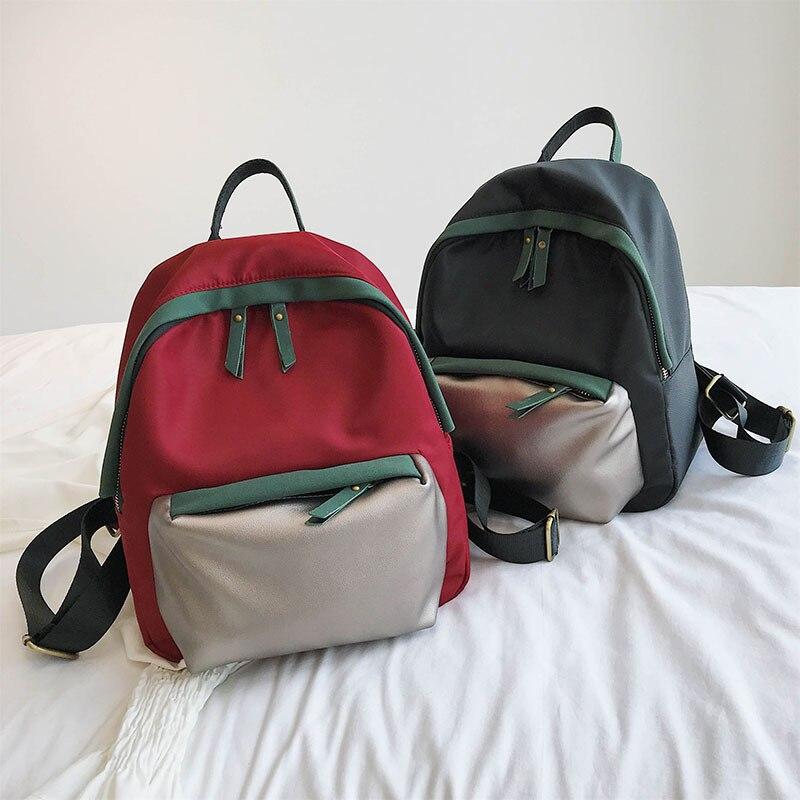 JIULIN été sac à dos école-sac grande capacité mode femmes lumière multifonction Lady mini sac à dos sac à dos sac à dos