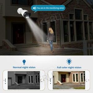 Image 4 - KERUI sistema de cámaras de seguridad H.265, 8 canales, 5MP, Kit de cámara de vigilancia Vídeo impermeable, sistema CCTV IP, registro facial, NVR, POE