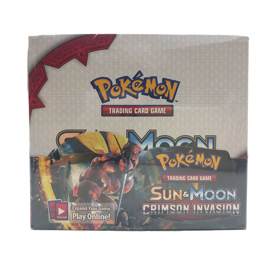 Pokemon 324PCS GX EX MEGA Cover Card 3D Version  Crimson Invasion Card Collectible Gift Kids Toy