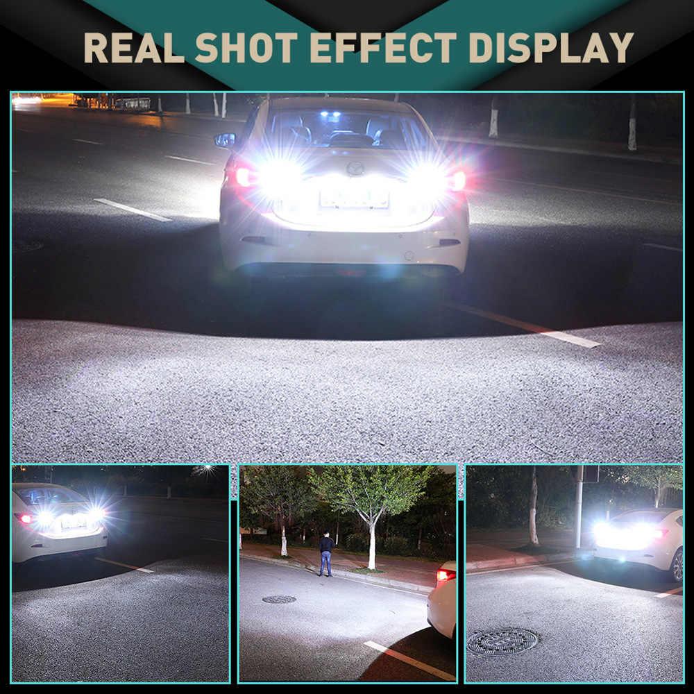 2 Pcs T16 W16W 912 921 T15 LED CANBUS Mobil Backup Reverse Lampu untuk Hyundai Aksen Santa Fe Ix35 Ix20 ix55 Tucson Elantra Sonata