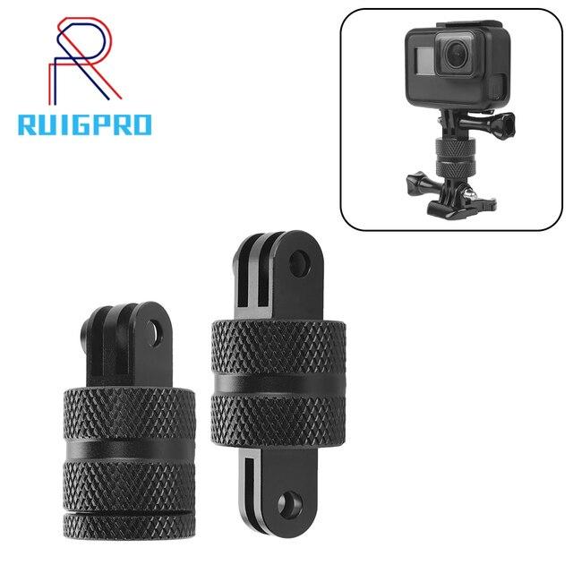 Ruigpro 360度スイベル回転アルミ三脚移動プロヒーロー3 3 + 4 5 6 7 8 9セッション/xiaomi李/sj