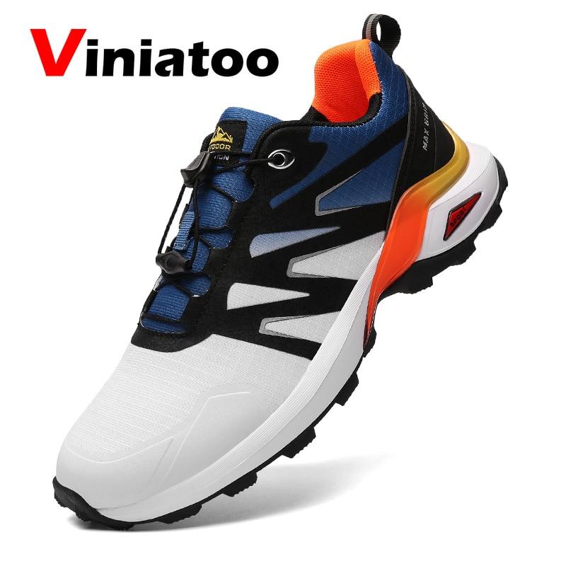 Мужские Нескользящие кроссовки, прогулочная обувь, обувь для тренировок на открытом воздухе, бега, большие размеры 41-47