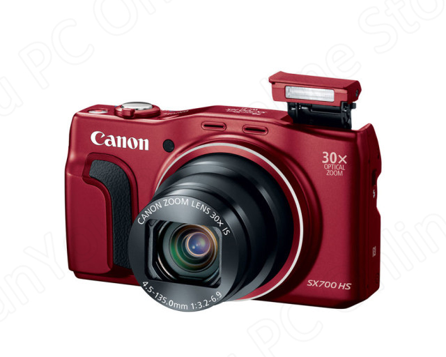 Б/у цифровая компактная камера CANON PowerShot SX700 HS 16,1 Мп Wi-Fi NFC IS 30x оптический зум + 8 Гб памяти, карта памяти, полностью протестирована