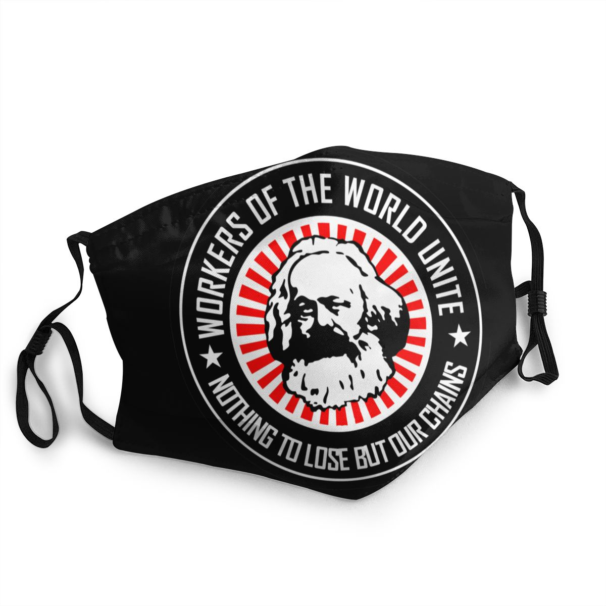 Karl Marx Reusable Face Mask Communism Marxism Socialism Anti Bacterial Dustproof Mask Protection Mask Respirator Mouth Muffle