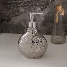 Lotion Bottle Soap-Dispenser Bathroom Storage Hand-Sanitizer Shower-Gel Ceramic Portable