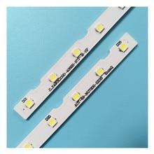 100% nowy 2 sztuk/zestaw listwy LED dla SAM SUNG 49 telewizor z dostępem do kanałów UE49NU UE49RU HG49NJ BN96 45953A BN96 45953B BN61 15483A LM41 00630A LM41 00557A