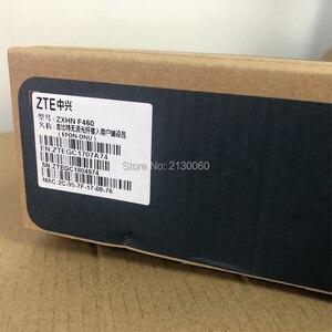 Image 5 - Nowy 5.0 wersja ZTE F460 ONT ZTE EPON ONU angielskie oprogramowanie sprzętowe 4FE + 2Tel + USB + WIFI, ZTE optyczny terminal sieciowy darmowa wysyłka
