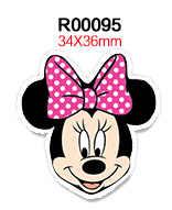 Baru 30 Pcs Resin Kartun Mickey Mouse Flatback Resin Cabochon DIY Bahan