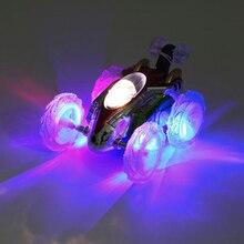 RC Stunt Dancing Car 360 Tumbling Electric Controlled Flashing Light Dasher Vehicle Kids