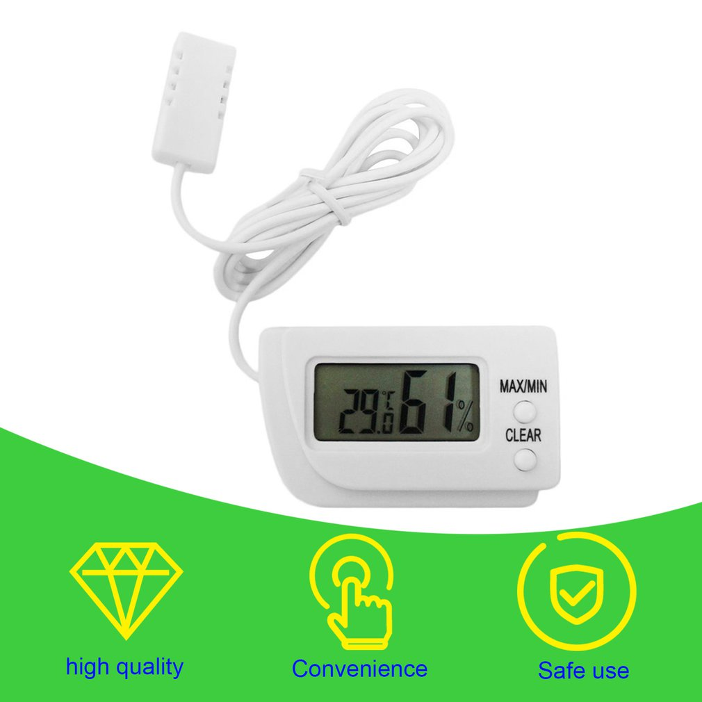 REMOTE DIGITAL EGG INCUBATOR THERMOMETER HYGROMETER