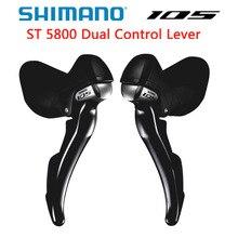 Shimano 105 ST 5800 Điều Khiển Kép LEVER 2x11 Speed 105 5800 Derailleur Xe Đạp Đường Bộ 22 S R7000 Sang Số 105 5800
