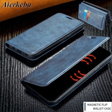 Ultra Thin Luxury Flip Leather Case for Iphone Xr Xs 11 Pro Max X 8 7 6 6s Plus Coque Magnetic Skin Card Wallet Stand Book Cover