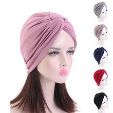 Turban pour femmes musulmanes, Turban à la mode, chapeau torsadé, Hijab, Bonnet, chapeau chimio pour adultes, Turban torsadé, 2021