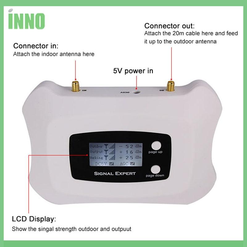 Mini gsm 900 MHz penguat sinyal ponsel, GSM 2 g repeater sinyal - Aksesori dan suku cadang ponsel - Foto 3